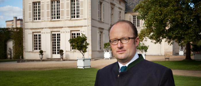 Príncipe Robert de Luxemburgo no Châteaux Haut-Brion